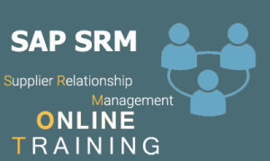 SAP SRM Online Training